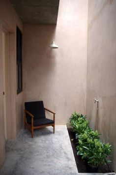 small outside space