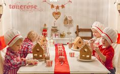 pepperkakeverksted gingerbread house santas workshop christmas JUL