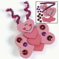 Valentine Butterfly Craft for kids