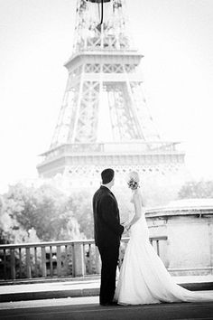 Real Wedding: Jessica and Timothy's Paris Elopement    #thebridalcollection