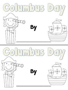 Fun in First Grade: Columbus Day Book and a Sale