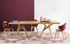 Calligaris Jungle Table from Lime Modern Living. Find a range of contemporary furniture from top brands including Calligaris Ceramic Table, Contemporary Furniture, Decoration, Home Kitchens, Designer, Solid Wood, Living Spaces, Dining Table, Dining Room