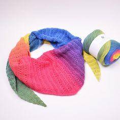 Dolce Harlequin Scarf - Free Crochet Pattern from Hobbii. Knit Or Crochet, Crochet Scarves, Crochet Hooks, Free Crochet, Full Body Dumbbell Workout, Crochet Patterns, Scarf Patterns, Crochet Accessories, Neck Warmer