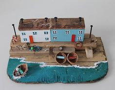 Driftwood sculpture Driftwood houses Driftwood cottages