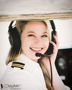 Celine (@pilotcelini) Female Pilot Pilot girl Aviation