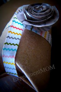 Experiment MOM: Upcycled Challenge: Toilet Paper Roll tube to gift package #freefromtrash