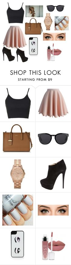 """""""FRIDAY school day"""" by thats0jai on Polyvore featuring Topshop, Chicwish, DKNY, Barton Perreira, Marc by Marc Jacobs, Giuseppe Zanotti, Kate Spade, women's clothing, women and female"""