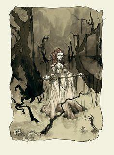 Lady of the Lake by AbigailLarson.deviantart.com on @deviantART