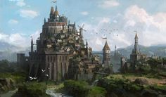 fortress by Lee b
