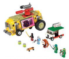 A first look at the Teenage Mutant Ninja Turtles Lego.