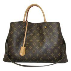 Louis Vuitton Monogram Canvas Montaigne GM - Keeks Buy + Sell Designer  Handbags 62d3ec8694a18