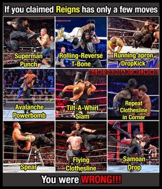 For those people who claim the WWE World Heavyweight Champion got only few moves, You guys were actually wrong! Le Shield, My Future Job, Roman Regins, Wwe Roman Reigns, Wwe World, Wwe Wrestlers, Wwe Superstars, Roman Empire, Big Dogs