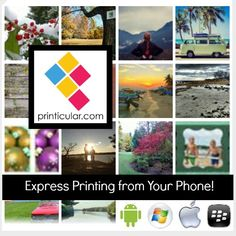 You capture the memories, @Printicular prints the pics! via Instagram, Dropbox, Flickr and more! #IOS @#Android #GetPrinticular