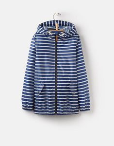 c9ae57801f Joules US ROWAN OlderBoys Waterproof Jacket 3-12yr Blue Stripe Joules Uk,  Rain Gear
