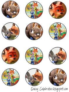 http://daisycelebrates.blogspot.com/2016/03/zootopia-birthday-party-printable-files.html