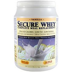 Secure Whey Complete Meal Replacement - Vanilla 30 Servings $44.90