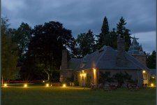 Glen Tanar Estate - cottage (several for hire) - Evening