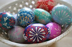 Easter Is Celebrated with Gusto in the Czech Republic: Eastern European Easter Eggs