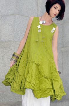 Manifold Dress in Lime Carnaby - Shon Modern