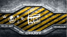 Tomorrow! 18th Feb NRG Live Show UK 2016 - with @JacekChudy #trufunk 19-21 UK TIME @NSBRadio http://nsbradio.co.uk/content/