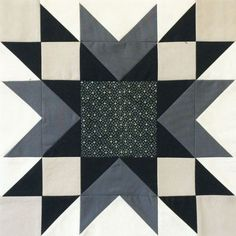 The Bee Hive: Double Star Hi all! It's Christa here from Christa Quilts and I'm delighted to share my finished block for The Bee Hive with you today! It's called Double Star and looks equally striking in black and white or color. Here's what the quilt Star Quilt Blocks, Star Quilts, Mini Quilts, Barn Quilt Patterns, Pattern Blocks, Quilt Block Patterns 12 Inch, Half Square Triangle Quilts, Square Quilt, Quilting Projects