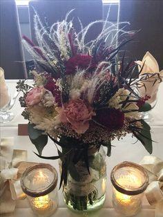 Winter wedding Bride bouquet by Brandi Richards