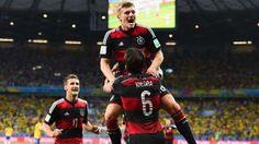 WM-Halbfinale Deutschland - Brasilien 7:1