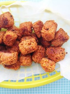 Homemade Sweet Potato Tater Tots #Paleo #glutenfree #Vegan