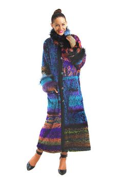 """WOW! IT'S COLD!!! Stop in and get a snuggly warm coat, cuddly scarf and toasty mittens or gloves at 50% OFF! Just about EVERYTHING is 50% OFF in shop and online! Use code """"NewYear"""" for 50% OFF online! #SHOPEASTON #DISCOVEREASTON #LADEDA Lee Andersen Secret Forest Coat"""