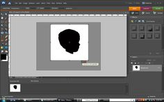 Create Digital Silhouettes with Photoshop Elements