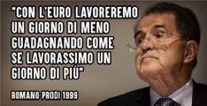 Rissa tv tra Prodi e La Russa sul passaggio dalla £ira all'€uro.