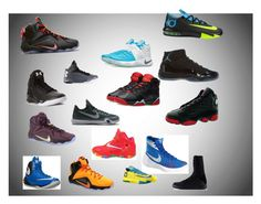 """Me the basketball shoes"" by kaykay-booski on Polyvore featuring art"