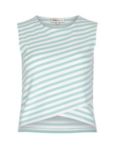 Crossover Striped Top | M&S