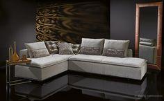 Exclusive Sofas aus der Kollektion black label von W.SCHILLIG