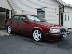 Volvo 940 Sedan Red Color