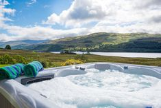 Stay in a castle and it's not unusual for there to be a Jacuzzi too. These large holiday homes with hot tubs will soothe your mind and your soul.