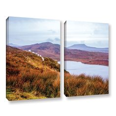 ArtWall Marianne Mangan's Donegal 2-piece Gallery Wrapped Set