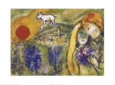 $24.99 Lovers Poster Print by Marc Chagall - Fine Art Reproduction @postersprint #Postersprint #FineArt #WallArt #Walldecor #wallPosters #Prints #Printing #ModernArt #ArtByEra #ArtByRoom