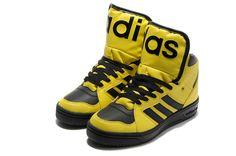 Jeremy Scott Adidas Instinct Hi Sun Black  $88.98