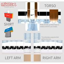 Cute Roblox Shirts Template Roblox Outfit Template Google Search Roblox Create Shirts Roblox Shirt