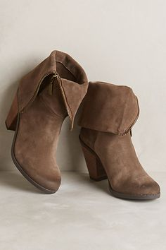 Adam Tucker Pelican Booties -$159.00 Cute and versatile. Also in black. | #shoes #boot  #everyday |