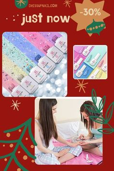 Many colors in one set, help you create an incredible design. It is also a great gift for a friend, sister or daughter. You can completely cover the nail or make an element of the picture #nail #nailart #dressupnail Blue Gel Nails, Glitter Gel Polish, Gel Nail Polish Set, Glitter Gel Nails, Nude Nails, Easy Art, Simple Art, Art Nails, Nail Art