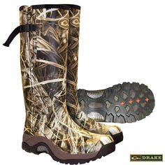 Drake MST Knee High Side-Zip Mudder Boots >>> Continue to the product at the image link. (This is an affiliate link) Hunting Clothes, Hunting Gear, Waterfowl Hunting, Duck Hunting, Drake, Mens Outdoor Clothing, Boat Accessories, Boat Stuff, Plain Tees