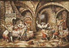 Gallery.ru / Фото #1 - 10 - IannaD Stitch And Angel, Cross Stitch Angels, Cross Stitch Pictures, Cross Stitch Designs, Birds, Pattern, Painting, Animals, People