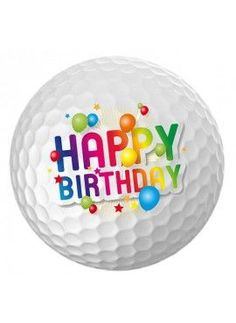 Happy Birthday - Golf - Male More