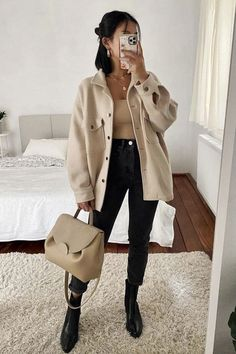 Uni Outfits, Trendy Fall Outfits, Casual Winter Outfits, Winter Fashion Outfits, Mode Outfits, Everyday Outfits, Classy Outfits, Look Fashion, Stylish Outfits