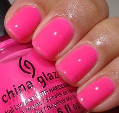 China Glaze Sunsational Collection summer 2013 - Heat Index