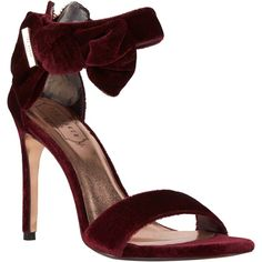 8bb84a07a96 Buy Burgundy Ted Baker Torabel Stiletto Heeled Sandals