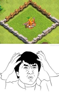 What were they thinking??? #Clash of #Clans mindblown.