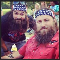 Willie and Jep Robertson